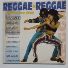 Discos de vinilo: REGGAE REGGAE. ES MUCHO MAS. DOBLE LP. TDKDA66. Lote 176606940