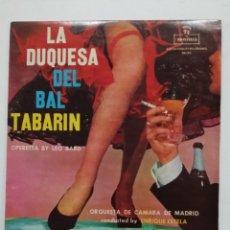 Discos de vinilo: LA DUQUESA DEL BAL TABARIN. ENRIQUE ESTELA. LP. TDKDA66. Lote 176608693