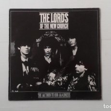 Discos de vinilo: THE LORDS OF THE NEW CHURCH - THE METHOD TO OUR MADNESS LP 1984 EDICION ESPAÑOLA AFTER PUNK. Lote 176618208