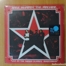 Discos de vinilo: RAGE AGAINST THE MACHINE - LIVE AT THE GRAND OLYMPIC AUDITORIUM - LP. Lote 176623277