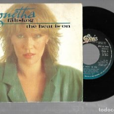 Discos de vinilo: SINGLE. AGNETHA. FÄLTSKOG / THE HEAT IS ON. 1983. DISCOS CBS. Lote 176624359