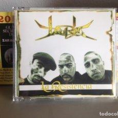 Discos de vinilo: JAURIA - LA RESISTENCIA / RARO CD EP HIP HOP 1999. 5 TEMAS. NM-NM (COMO NUEVO). Lote 176625727