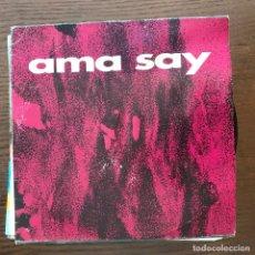 Discos de vinilo: AMA SAY - ATERIPEAN - SINGLE ESAN OZENKI 1993. Lote 176639402