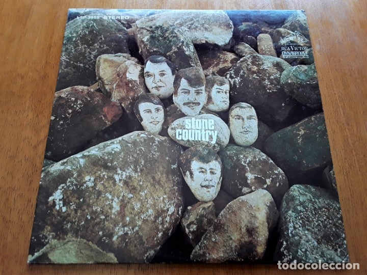 STONE COUNTRY 1968 USA PSYCH FOLK & WEST COAST ROCK ORIGINAL LP (Música - Discos - LP Vinilo - Pop - Rock Extranjero de los 50 y 60)