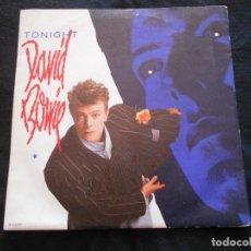Discos de vinilo: DAVID BOWIE // TONIGHT. Lote 176642942
