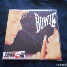 Discos de vinilo: DAVID BOWIE // CHINA GIRL. Lote 176643680