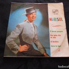 Discos de vinilo: MARISOL // EL POROM POMPERO +3. Lote 176644330