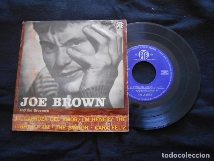 Discos de vinilo: JOE BROWN AND THE BRUVVERS // LA CARROZA DEL AMOR + 3 - Foto 3 - 176644539
