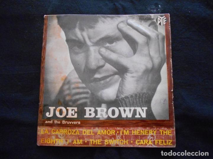 JOE BROWN AND THE BRUVVERS // LA CARROZA DEL AMOR + 3 (Música - Discos de Vinilo - EPs - Pop - Rock Internacional de los 50 y 60)