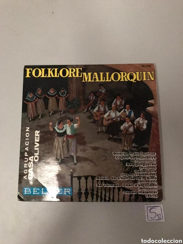 FOLKLORE MALLORQUÍN (Música - Discos - Singles Vinilo - Flamenco, Canción española y Cuplé)