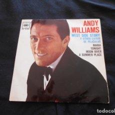 Discos de vinilo: ANDY WILLIAMS // WEST SIDE STORY + 3. Lote 176645100