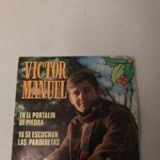Discos de vinilo: VÍCTOR MANUEL. Lote 176646452