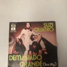 Discos de vinilo: SUZI CUATRO. Lote 176646877
