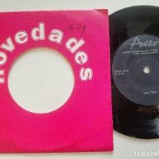 Disques de vinyle: MIGUEL ANGEL (KOLDO) - COMO TODOS / MI LARGO CAMINAR - SINGLE CUBANO AREITO 1970'S //. Lote 176647473