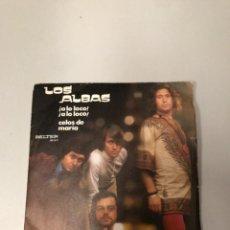 Discos de vinilo: LOS ALBAS. Lote 176647478