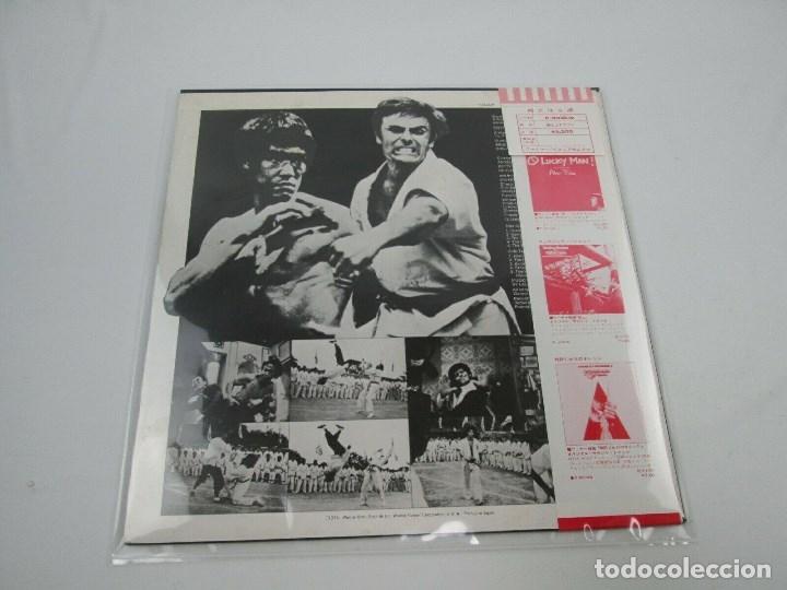 Discos de vinilo: EDICIÓN JAPONESA DE LA BANDA SONORA DE OPERACIÓN DRAGÓN DE BRUCE LEE - ENTER THE DRAGON BSO - Foto 3 - 176647755