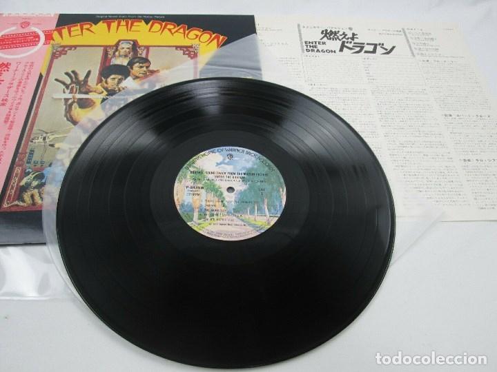 Discos de vinilo: EDICIÓN JAPONESA DE LA BANDA SONORA DE OPERACIÓN DRAGÓN DE BRUCE LEE - ENTER THE DRAGON BSO - Foto 4 - 176647755
