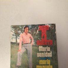 Discos de vinilo: JUAN DE LA HUERTA. Lote 176648548