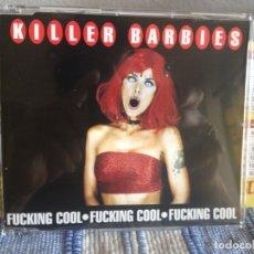 Discos de vinilo: KILLER BARBIES - FUCKING COOL RARO CD SINGLE PROMO 1999. 2 TRACKS. NM-NM. Lote 176667892