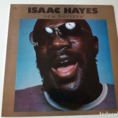 Discos de vinilo: ISAAC HAYES- NEW HORIZON- SPAIN LP 1977- COMO NUEVO.. Lote 176670515