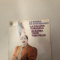 Discos de vinilo: LA BANDA DE DON PAYASO. Lote 176672022