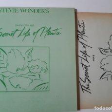 Discos de vinilo: STEVIE WONDER- THE SECRET LIFE OF PLANTS - SPAIN 2 LP 1979 + HOJAS PROMO RADIO -VINILOS COMO NUEVOS.. Lote 176672632