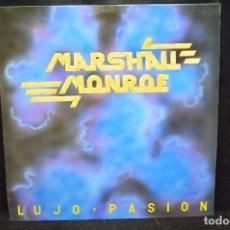 Discos de vinilo: MARSHALL MONROE - LUJO Y PASIÓN - LP. Lote 176674503