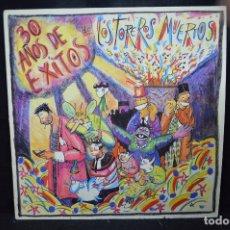 Discos de vinilo: LOS TOREROS MUERTOS - 30 AÑOS DE ÉXITOS - LP. Lote 244659745