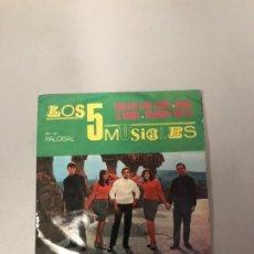 Discos de vinilo: LOS 5 MUSIGLES. Lote 176680402