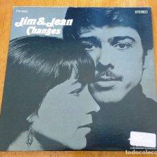 Discos de vinilo: JIM & JEAN - CHANGES 1966 USA POP FOLK ORIGINAL LP. Lote 176684517