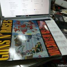 Discos de vinilo: GUNS N' ROSES LP ORIGINAL APPETITE FOR DESTRUCTION 1987. Lote 176688357