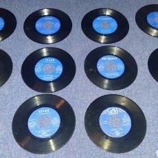 Discos de vinilo: LOTE DE DISCOS LA VOZ DE SU AMO. VER DESCRIPCION. ADAMO. DUO DINAMICO. GELU.. Lote 176689379