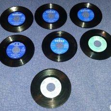 Discos de vinilo: LOTE DE DISCOS DE LA DISCOGRÁFICA ODEON EMI. VER DESCRIPCION. ANTONIO MOLINA. LUIS AGUILE.. Lote 176690550
