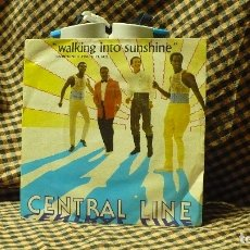 Discos de vinilo: CENTRAL LINE -- WALKING INTO SUNSHINE / THAT'S NO WAY TO TREAT MY LOVE, POLYDOR 1981.. Lote 176691077