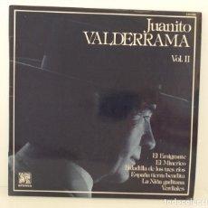 Discos de vinilo: JUANITO VALDERRAMA. VOLUMEN 2. VINILO. LP . Lote 176696845