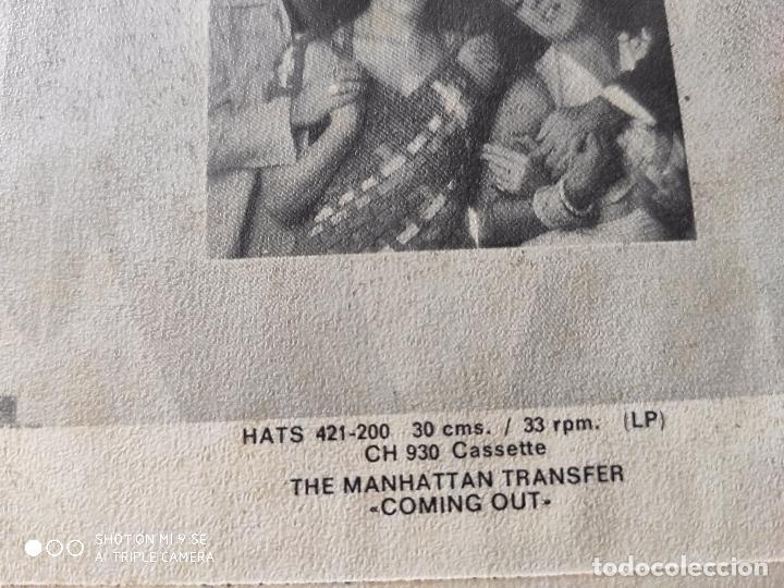 Discos de vinilo: The Manhattan Transfer.Cuentame.AÑO 77 - Foto 6 - 176706762