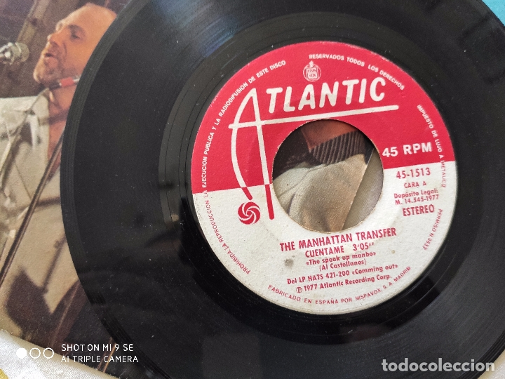 Discos de vinilo: The Manhattan Transfer.Cuentame.AÑO 77 - Foto 7 - 176706762