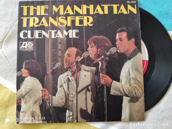 THE MANHATTAN TRANSFER.CUENTAME.AÑO 77 (Música - Discos - Singles Vinilo - Pop - Rock Extranjero de los 90 a la actualidad)