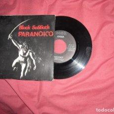 Discos de vinilo: BLACK SABBATH SINGLE PARANOICO 1981 VER FOTO. Lote 176718168
