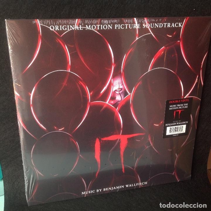 BENJAMIN WALLFISCH - IT MUSICA DE LA PELÍCULA - DOBLE LP NUEVO CERRADO. (Música - Discos - LP Vinilo - Bandas Sonoras y Música de Actores )