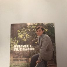 Discos de vinilo: RAFAEL ALEGRIA. Lote 176722545