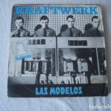 Discos de vinilo: KRAFTWERK LAS MODELOS . Lote 176722673