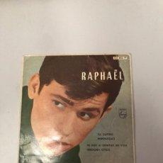 Discos de vinilo: RAPHAEL. Lote 176722709