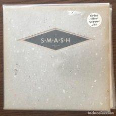 Discos de vinilo: S*M*A*S*H - BARRABAS (PILOTED) - SINGLE SUB POP 1993 - VINILO VERDE. Lote 176723498