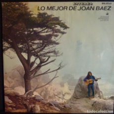 Discos de vinilo: JOAN BAEZ // LO MEJOR DE JOAN BAEZ// 1965 //(VG+ VG+). LP. Lote 176723822