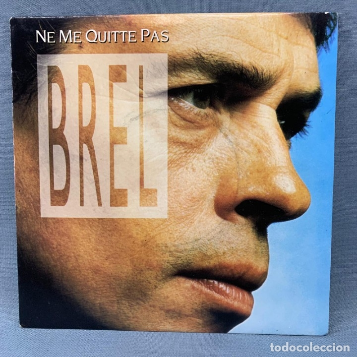 Discos de vinilo: SINGLE JACQUES BREL NE ME QUITTE PAS - 1988 BARCLAY - Foto 1 - 176724264