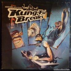 Discos de vinilo: ACCION SANCHEZ Y JEFE DE LA M // KUNG FU BREAKS // 2003// (VG+ VG+). LP. Lote 176724722