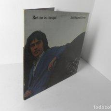 Discos de vinilo: LP JOAN MANUEL SERRAT (RES NO ÉS MESQUÍ) EDIGSA-77 (EN MUY BUEN ESTADO). Lote 176725894