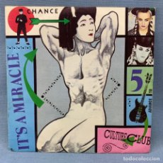 Discos de vinilo: SINGLE CULTURE CLUB - IT´S A MIRACLE - MADE IN SPAIN. Lote 176725962