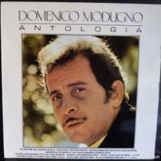 Discos de vinilo: DOMENICO MODUGNO// ANTOLOGIA// 1986 //(VG+ VG+). LP. Lote 176731148